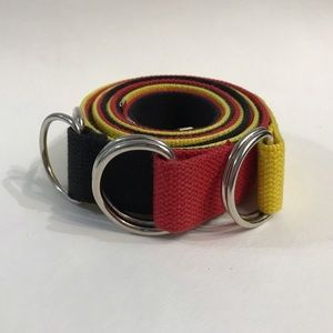 Accessories - Set of 3 easy adjust belts, yellow, black and red